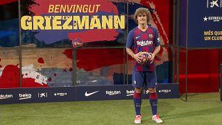 Jelképes büntetést kapott a Barcelona Griezmann átigazolása miatt