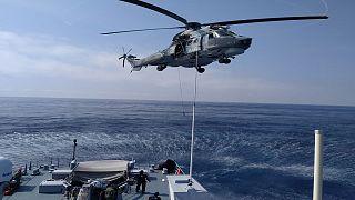 Χίος: Κοινή άσκηση έρευνας και διάσωσης Λιμενικού-Frontex-Αεροπορίας