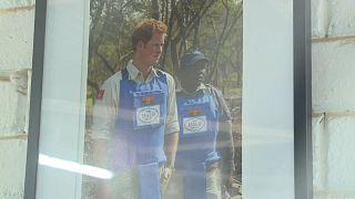 Príncipe Harry em Angola