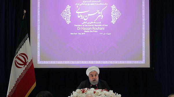 روحانی در نشست خبری: رهبران اروپایی مدرکی در متهم کردن ایران نداشتند