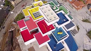 World's best creators show constructions in home of the Lego brick
