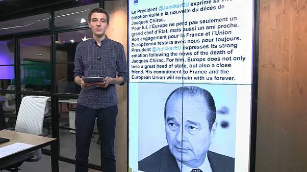 Tributes paid on social media to Jacques Chirac | #TheCube