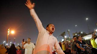 من الاحتجاجات ضد السيسي الأسبوع الفائت