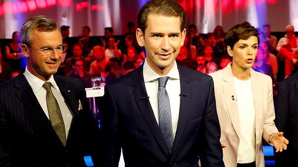 Excanciller de Austria y líder del Partido Popular Austriaco Sebastian Kurz
