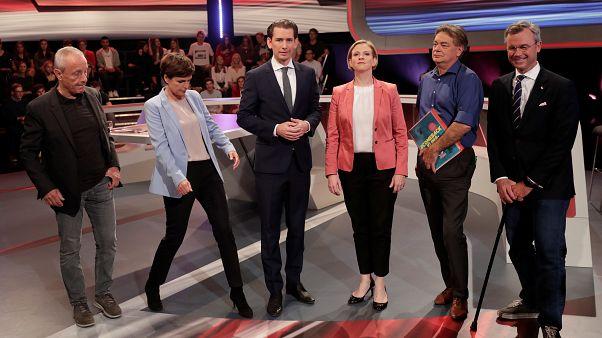 Österreich-Wahl: Schlagabtausch in Elefantenrunde