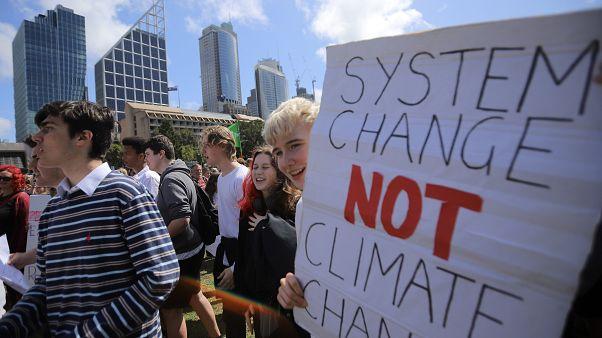 İklim krizine karşı cuma protestoları Yeni Zelanda'da başladı