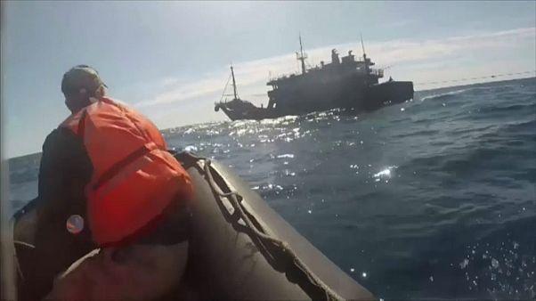 Северокорейские рыбаки взялись за старое
