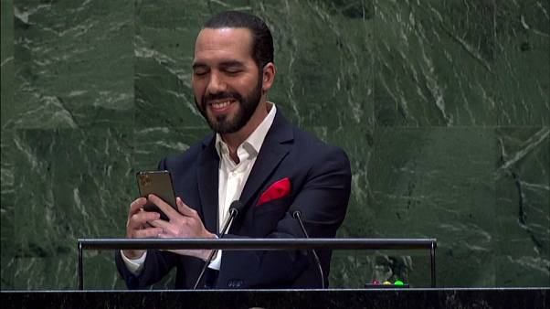 El selfi de Nayib Bukele en la Asamblea General de la ONU