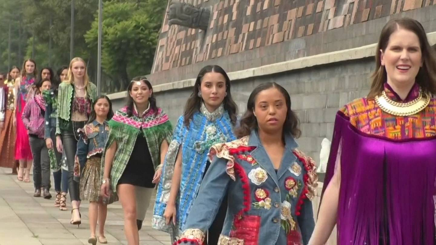 Mexico Hosts Fashion Show Promoting Diversity And Inclusion Euronews