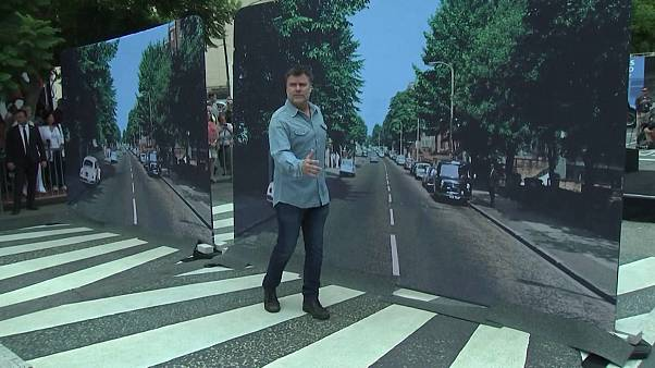 Hollywood celebrates 50th anniversary of Beatles' Abbey Road album