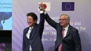 Le Japon et l'UE s'associent en signant un accord connectant l'Asie et l'Europe
