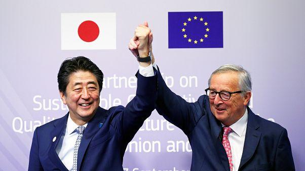 """EU und Japan planen Gegenentwurf zu Chinas """"Neuer Seidenstraße"""""""