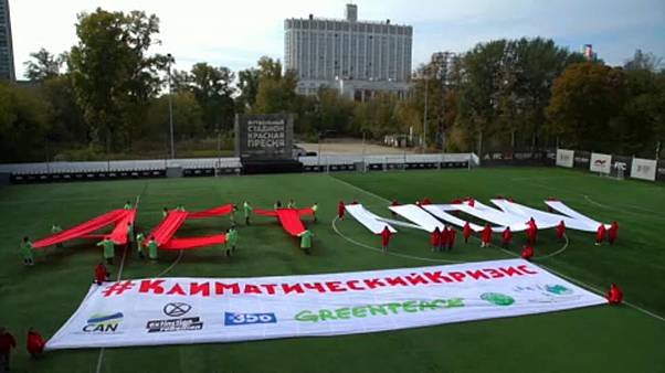 Μόσχα: Μεγάλη διαμαρτυρία της Greenpeace για το κλίμα