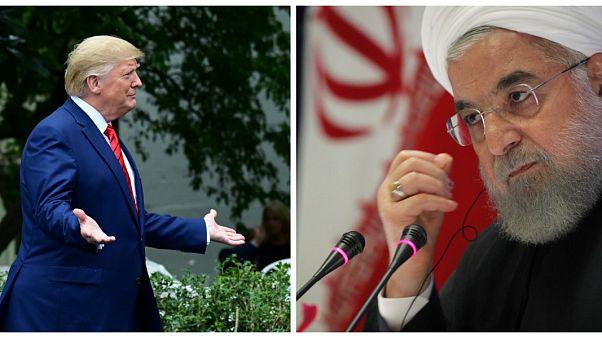Ende der Sanktionen? Zwist zwischen Trump und Ruhani
