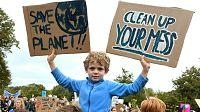 Jovens de todo o mundo juntos pelo clima