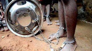 Nijerya'da Kuran kursuna gönderilen yüzlerce çocuk işkenceden kurtarıldı