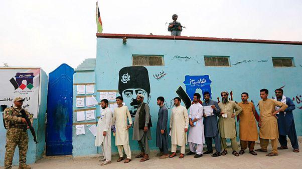 انتخابات افغانستان؛ زمان اخذ رای به پایان رسید