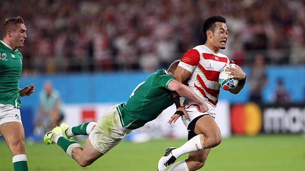 Rugby-WM: Japan überrascht gegen Irland
