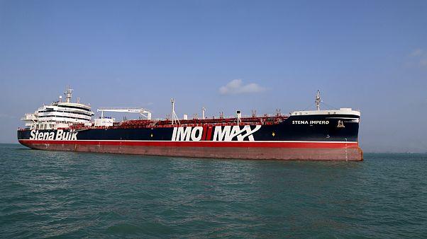 نفتکش بریتانیایی «استنا ایمپرو» در دبی پهلو گرفت