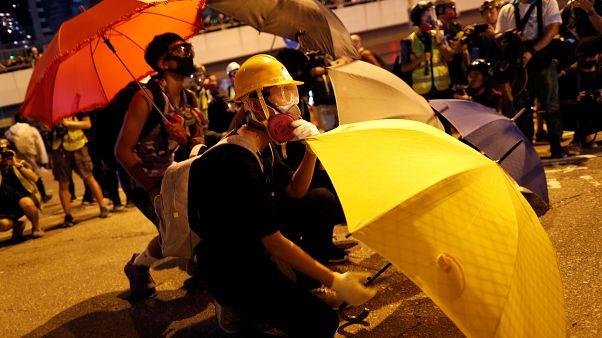 Nuevas manifestaciones en Hong Kong cinco años después de la 'Revolución de los Paraguas'