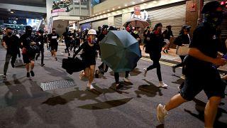 """Hong Kong : nouvelle mobilisation à l'occasion des 5 ans du """"mouvement des parapluies"""""""