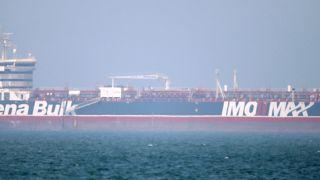 La Stena Impero al Porto Rashid di Dubai