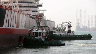 """Im Iran festgesetzter Öltanker: """"Stena Impero"""" erreicht Dubai"""
