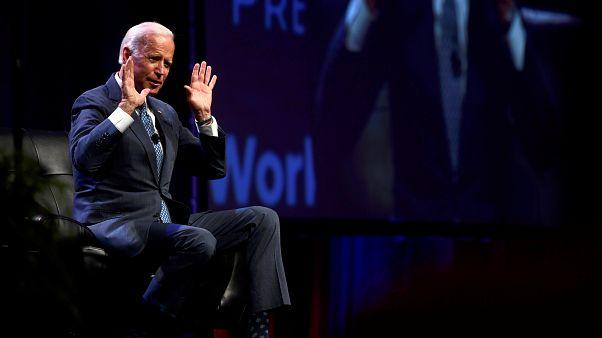 نائب الرئيس الأمريكي السابق جو بايدن خلال القمة الرئاسية لعمال AFL-CIO في فيلادلفيا الولايات المتحدة الأمريكية 17 سبتمبر 2019