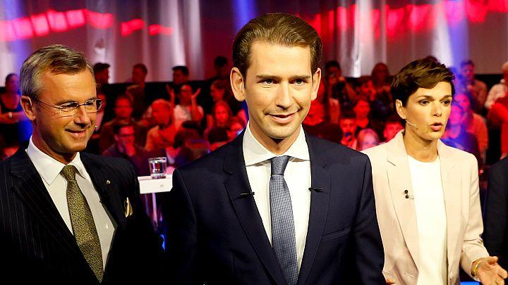 Áustria escolhe governo este domingo
