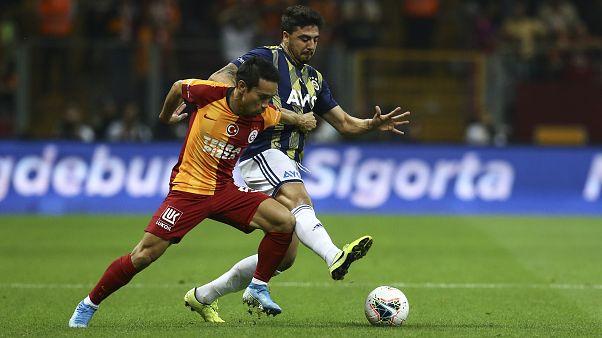 Galatasaray-Fenerbahçe derbisi golsüz berabere tamamlandı