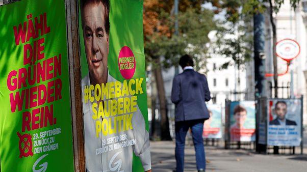 Avusturya'da halk erken seçim için sandık başında