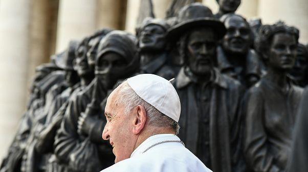 Le pape François lance un nouvel appel en faveur des migrants