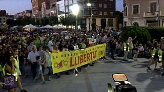 Cataluña: marcha independentista en un clima social y político crispado