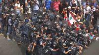 Protestos contra crise económica no Líbano