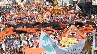Russland feiert den Tag des Tigers