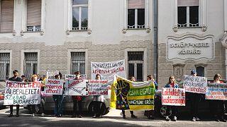 Ezerszám üresek önkormányzati ingatlanok, állítják tüntetők