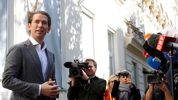 El ÖVP de Sebastian Kurz, vencedor en las elecciones de Austria con un 37% de los votos