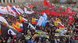 """Митинг в поддержку фигурантов """"московского дела"""""""
