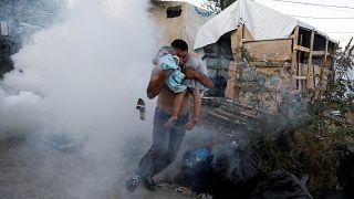 """ONU: situação no campo de Moria requer """"extrema urgência"""""""