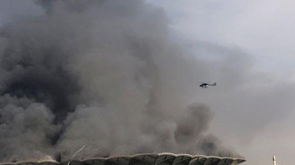 Arabie Saoudite : un violent incendie détruit une gare à Djeddah