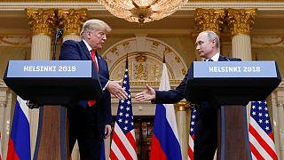 تلاش اعضای کنگره آمریکا برای دسترسی به جزئیات مکالمه ترامپ با پوتین