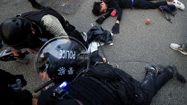 Aumenta la tensión en Hong Kong en vísperas del 70 aniversario de la República Popular China