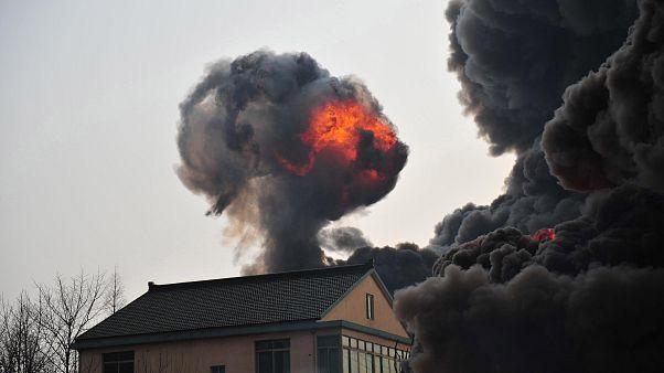 Çin'in doğusunda bir fabrikada çıkan yangında en az 19 kişi hayatını kaybetti