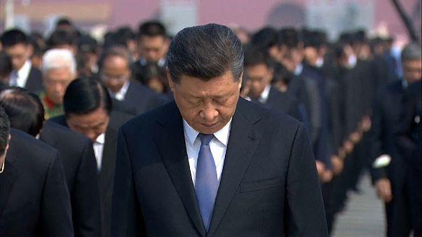 """وصفت بعض الوكالات الصينية ما قام به الرئيس الصيني بـ""""النادر"""""""