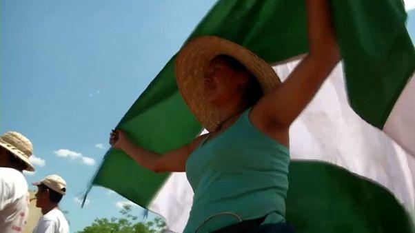 Protesta indígena en Bolivia por los devastadores incendios