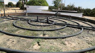 Centro de Las Nuevas Tecnologías del Água (CENTA), onde investigadores portugueses e espanhóis desenvolvel o projeto SECASOL