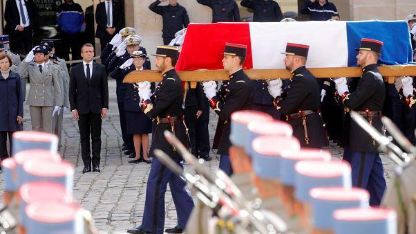 Große Trauerfeier in Paris für Jacques Chirac