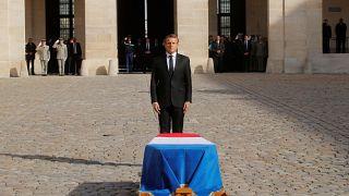 O último adeus a Jacques Chirac