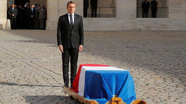 مراسم رسمی تشییع و خاکسپاری ژاک شیراک در پاریس برگزار شد