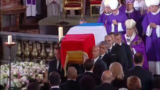 Eltemették Jacques Chirac volt francia elnököt